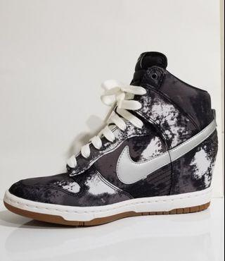 Nike Dunky Sky Trainers 黑白迷彩高桶波鞋
