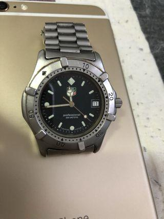 Authentic Tag Heuer diver