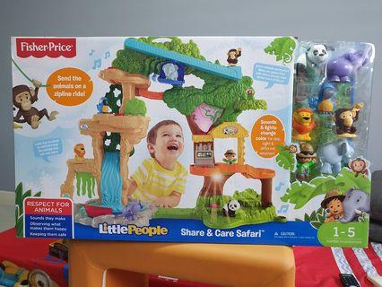 🚚 Fisher Price Little People Share & Care Safari