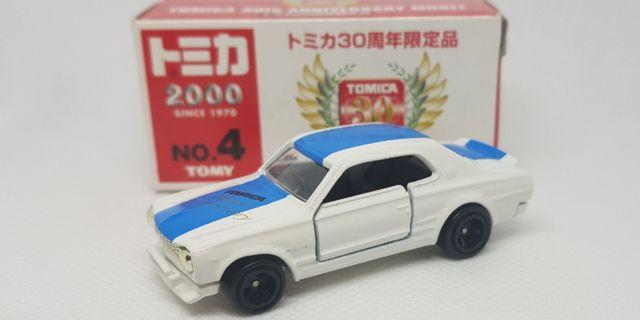 Tomica 30th Anniversary Model Nissan Skyline H/T 2000 GT-R Racing