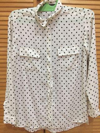 Polkadot Shirt Zara