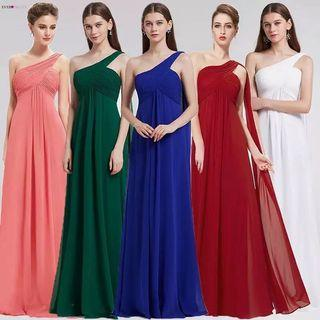 (PO) 4-16 Evening Dresses Ever Pretty EP09816 One Shoulder Ruffles Padded Special Occasion Weddings Events