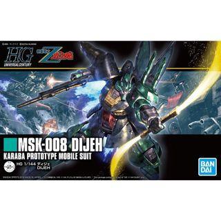 Gundam Z - HGUC 219 1/144 MSK-008 Dijeh