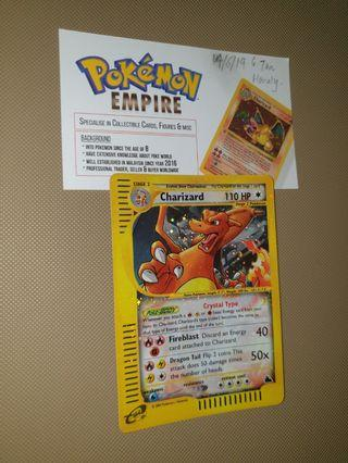 NFS - Pokemon Card Skyridge Crystal Charizard