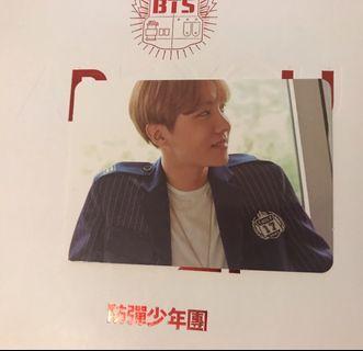 BTS Seasons Greetings 2017 JHope Photocard