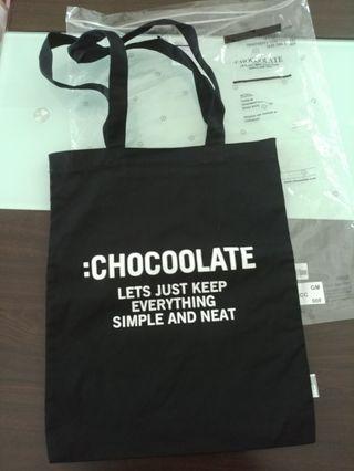 Chocoolate Tote Bag 帆布袋