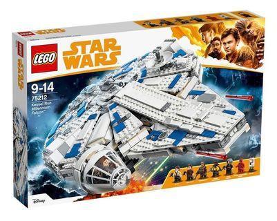 Lego Star Wars Millennium Falcon (75212) (全新,未開封,Y2019)
