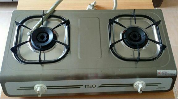 煤氣雙頭座枱煮食爐 MWZH21
