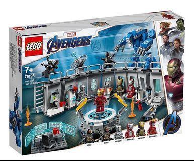 LEGO Marvel Avengers Iron Man Hall of Armor (76125) (全新, 未開封)