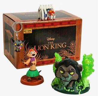 Pre-order Hot topic The Lion King Box funko pop