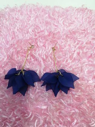 Korean Beautiful EARING BLUE #MGAG101