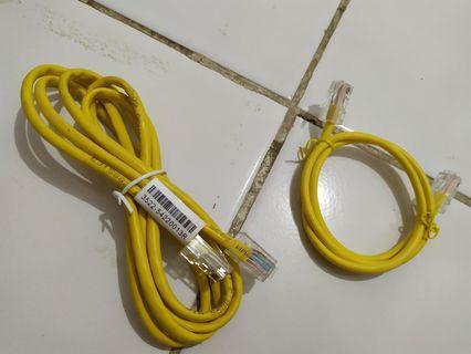 Kabel lan murmer ada yang panjang dan pendek