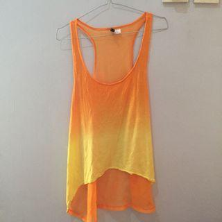 Yellow Tank Top H&M