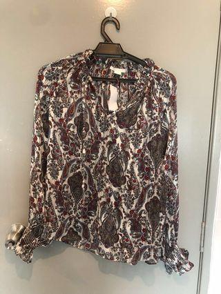 Brand new H&M blouse
