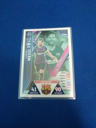 Match Attax UCL Messi