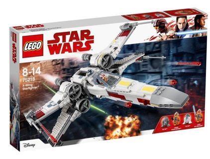 LEGO Star Wars X-Wing Starfighter (75218) (全新, 未開封, Y2019)