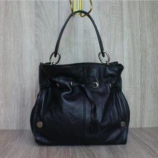 Sale coccinelle leather bag