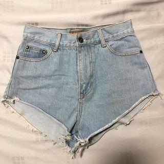 Light Denim Shorts