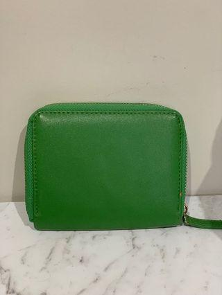 Green Forever 21 wallet