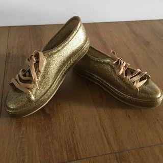 Melissa glitter sneakers - gold
