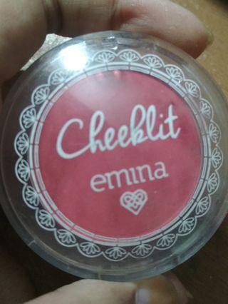 Emina Cheeklit Pressed Blush shade Cotton Candy