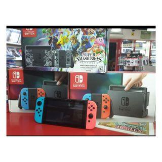 NINTENDO SWITCH PREOWNED BUNDLE