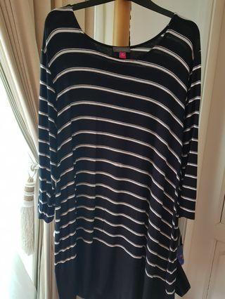 🚚 Plus size Vince Camuto Jersey Tunic UK 20