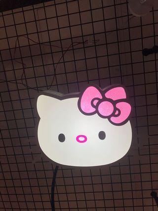 Cute kitty light