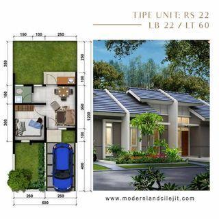 Rumah murah cicilan 1,4jt/bln