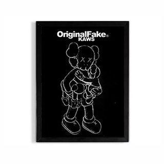 🚚 KAWS OriginalFake Anatomy A Family Wall Decor (2 Options)