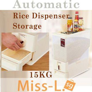 🚚FREE SHIPPING AUTOMATIC RICE DISPENSER 15KG