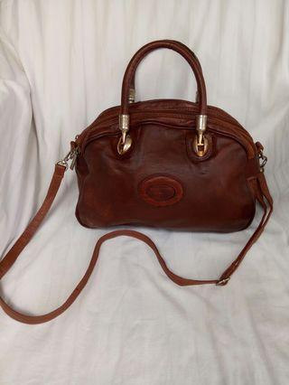 Tas kulit valentino di paolo made in italy
