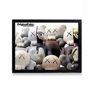 🚚 KAWS Dissected Companion Framed Wall Paintings (2 Options)