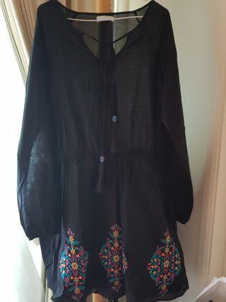 🚚 Plus size Diya dress UK 22