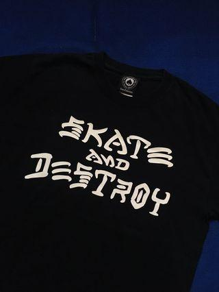THRASHER SKATE AND DESTROY TSHIRT