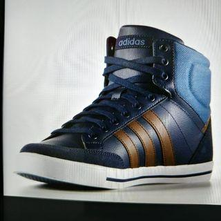 Brand New! Adidas Blue High Cut Sneakers #FathersDay35