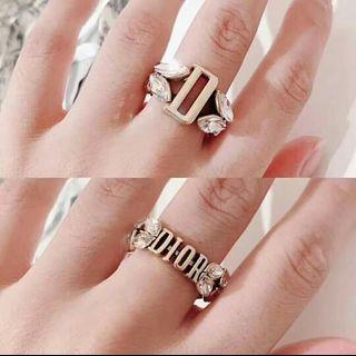 SALE DI0R Ring CD Ring Reversible Ring Branded Ring Designer Ring