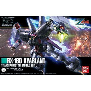 Gundam Z - HGUC 214 1/144 RX-160 Byarlant