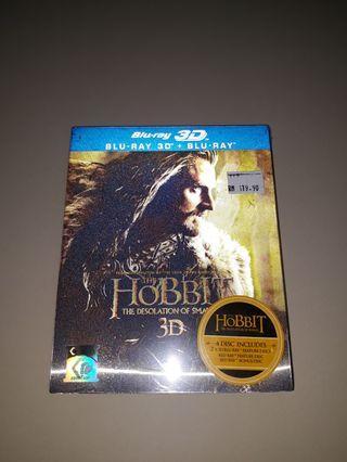The Hobbit 4 blu ray set