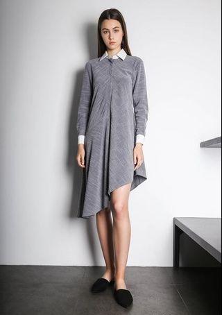 🚚 Salient label   HENRIETTA ASYMMETRIC DRESS