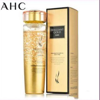 AHC 24K Brilliant Gold Toner 140ml