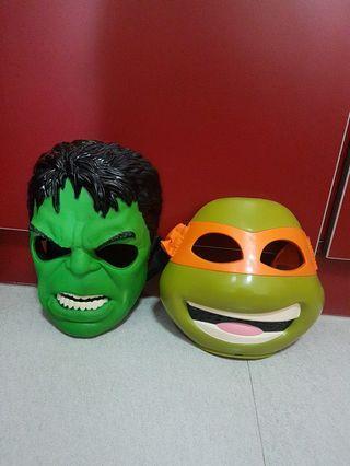 Marvel Incredible Hulk/ TMNT Mask