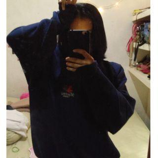 Navy sweater oversized #SociollaCarousell