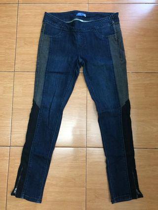 Celana jeans model unik merk Bershka size 42