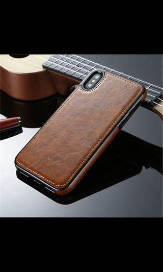 BN Iphone X PU Vintage Leather Case