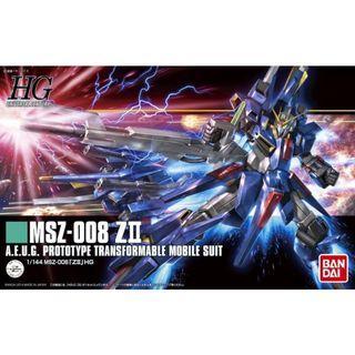 Gundam Z MSV - HGUC 186 1/144 MSZ-008 ZII