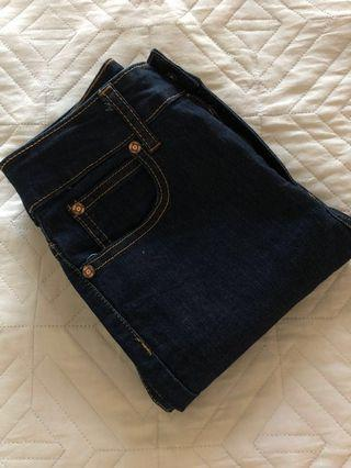 'Cotton On' The Skinny 7/8 High Rise Jeans Size 8