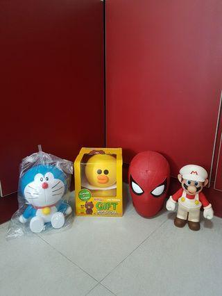 Nintendo Super Mario/ Doraemon/ LINE friends Sally