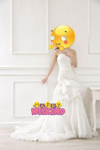 又靚又抵$500/件婚紗
