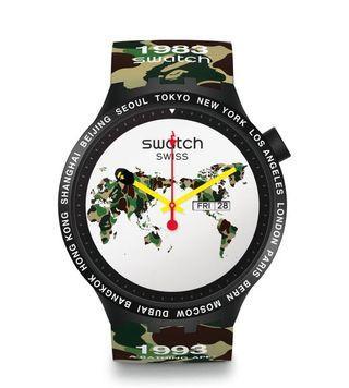 BAPE*SWATCH 聯名錶款 世界款